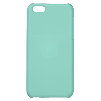 Caso llano del iPhone 5 de la turquesa