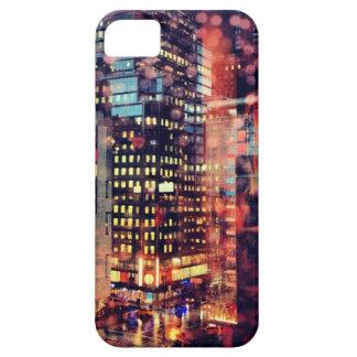 Caso lluvioso del iPhone de NYC iPhone 5 Fundas