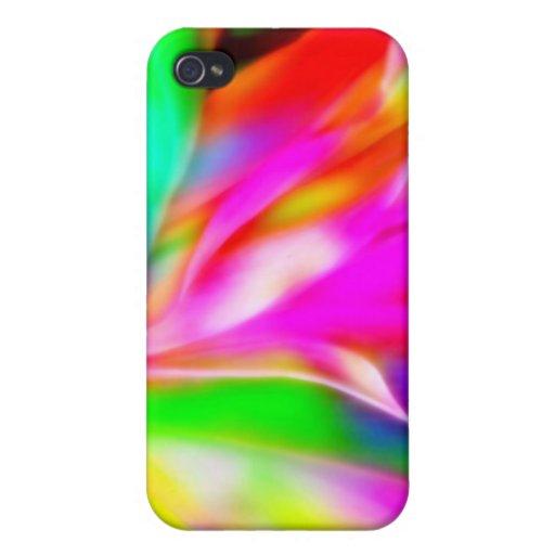 Caso loco de los colores iPhone 4 carcasas