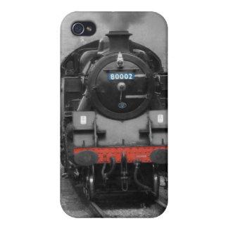 Caso locomotor 4S del iphone 4 del motor de vapor  iPhone 4/4S Fundas