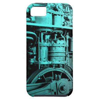 Caso locomotor de IPhone del motor de vapor iPhone 5 Carcasas