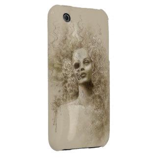 Caso macabro del iPhone 3G/3GS del arte de la iPhone 3 Carcasas