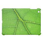 Caso macro del iPad de la hoja verde