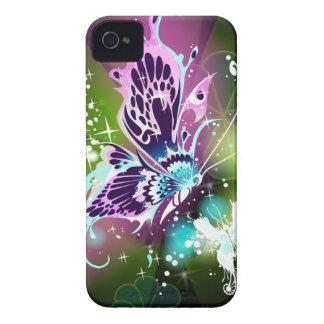 Caso mágico del iPhone 4 de la mariposa Case-Mate iPhone 4 Cárcasas