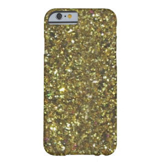 Caso magnífico del iPhone 6 del brillo del oro de Funda Para iPhone 6 Barely There