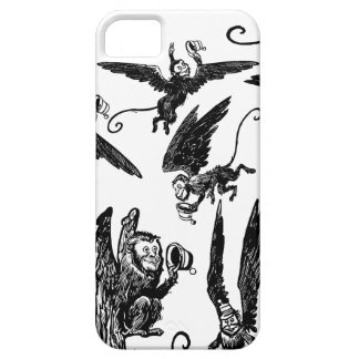 ¡Caso mago de Oz de los monos iPhone5 del vuelo! Funda Para iPhone SE/5/5s
