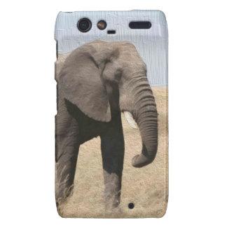 Caso majestuoso de Motorola RAZR del elefante Motorola Droid RAZR Funda