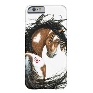 Caso majestuoso del iPhone 6 del caballo del Pinto Funda Barely There iPhone 6