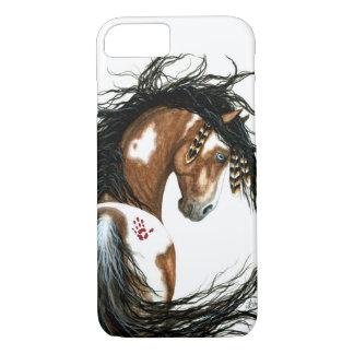 Caso majestuoso del iPhone 7 del caballo del Pinto Funda iPhone 7