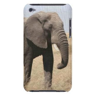 Caso majestuoso del tacto de iPod del elefante Barely There iPod Protectores