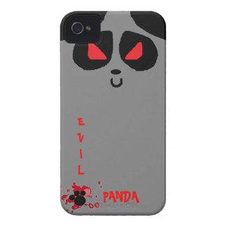 caso malvado del iphone 4 de la panda iPhone 4 cárcasas