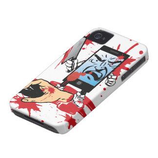 Caso malvado del iPhone 4 de Smartphone iPhone 4 Case-Mate Coberturas