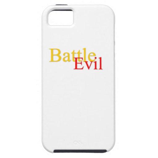 Caso malvado del iPhone 5 de la batalla iPhone 5 Funda