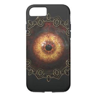 Caso malvado del iphone del ojo del zombi funda iPhone 7