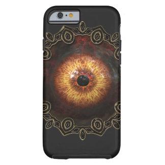 Caso malvado del iphone del ojo del zombi funda resistente iPhone 6