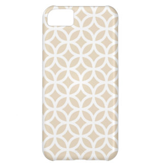 caso marfil del iPhone 5C geométrica