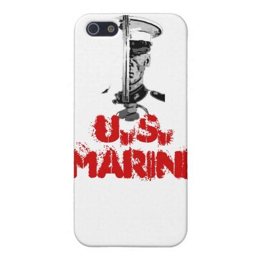 Caso marino de Iphone iPhone 5 Protector
