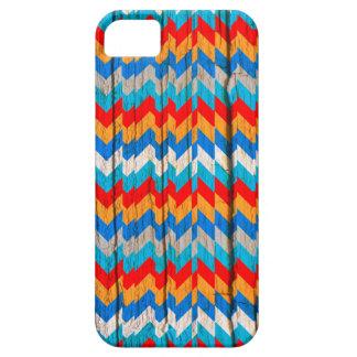 caso más Abstrac de madera Chrevron del iPhone 6 iPhone 5 Case-Mate Protectores