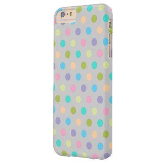 caso más apenas Polkadots del iPhone 6 Funda De iPhone 6 Plus Barely There