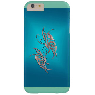 caso más Buttfly de Barely There del iPhone 6 Funda De iPhone 6 Plus Barely There