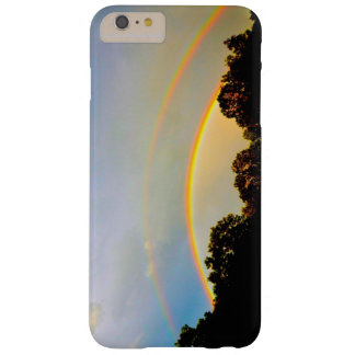 Caso más de Iphone 6 dobles del arco iris Funda Para iPhone 6 Plus Barely There