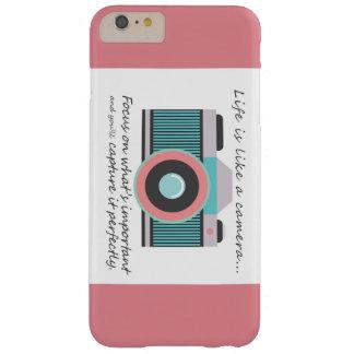 Caso más de IPhone 6 para los fotógrafos Funda De iPhone 6 Plus Barely There