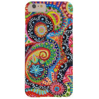 Caso más del iPhone 6 abstractos coloridos Funda De iPhone 6 Plus Barely There