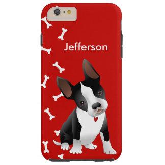 Caso más del iPhone 6 adorables del perrito de Funda Para iPhone 6 Plus Tough