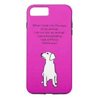 Caso más del iPhone 6 animales del amante Funda iPhone 7 Plus