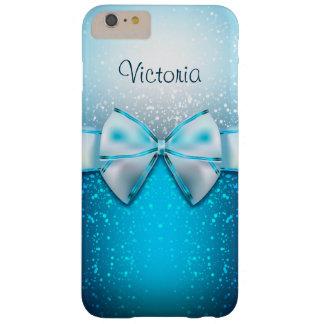 Caso más del iPhone 6 azules femeninos del día de Funda De iPhone 6 Plus Barely There