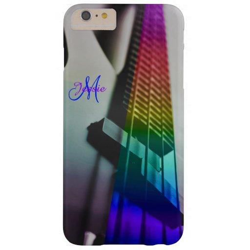 Caso más del iPhone 6 bajos del arco iris del Funda De iPhone 6 Plus Barely There