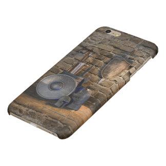 Caso más del iPhone 6 brillantes medievales del