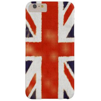 Caso más del iPhone 6 BRITÁNICOS de la bandera del Funda De iPhone 6 Plus Barely There