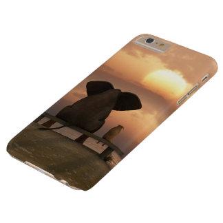 Caso más del iPhone 6 de Barely There del elefante Funda De iPhone 6 Plus Barely There