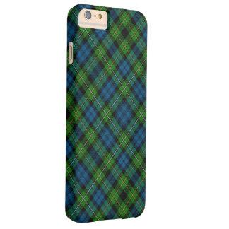 Caso más del iPhone 6 de Campbell del tartán Funda Para iPhone 6 Plus Barely There