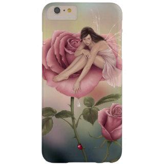 Caso más del iPhone 6 de hadas color de rosa de la Funda Barely There iPhone 6 Plus