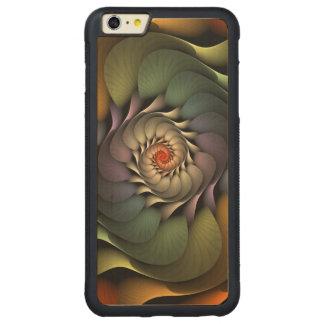Caso más del iPhone 6 de Jardinere Funda Para iPhone 6 Plus De Carved® De Nogal