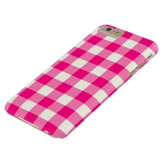 Caso más del iPhone 6 de la guinga de las rosas Funda Barely There iPhone 6 Plus