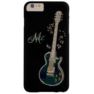 Caso más del iPhone 6 de la guitarra y de las Funda Barely There iPhone 6 Plus