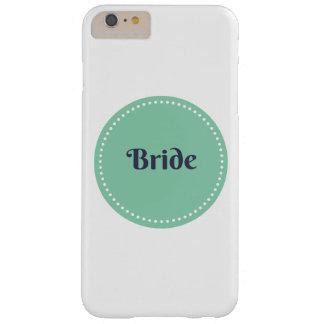 Caso más del iphone 6 de la novia funda para iPhone 6 plus barely there