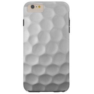 Caso más del iPhone 6 de la pelota de golf Funda Para iPhone 6 Plus Tough