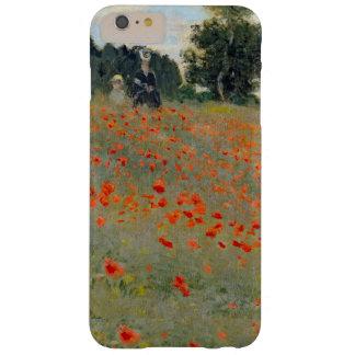 Caso más del iPhone 6 de las amapolas de Monet Funda De iPhone 6 Plus Barely There