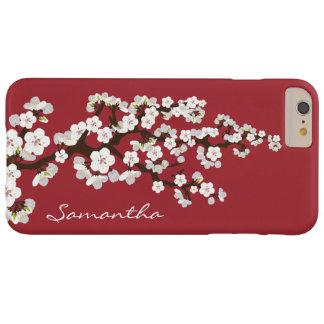 Caso MÁS del iPhone 6 de las flores de cerezo Funda De iPhone 6 Plus Barely There