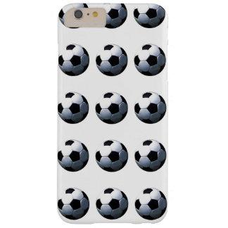 Caso más del iPhone 6 de los balones de fútbol de Funda De iPhone 6 Plus Barely There