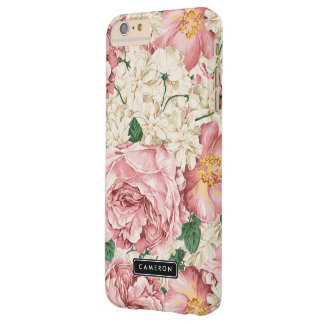 Caso más del iPhone 6 de los Peonies y de los Funda Para iPhone 6 Plus Barely There