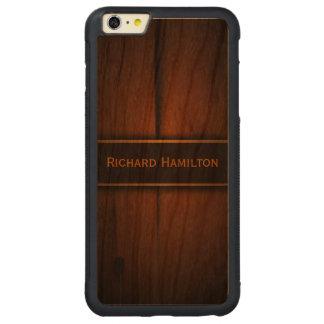 Caso más del iPhone 6 de madera bálticos de