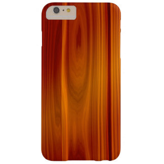 Caso más del iPhone 6 de madera de la teca Funda De iPhone 6 Plus Barely There