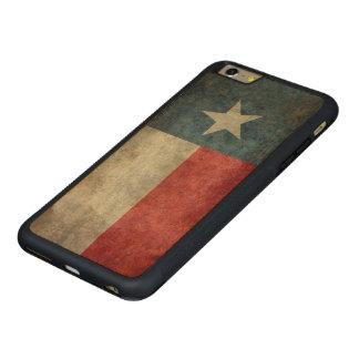 Caso más del iPhone 6 de madera del vintage de la Funda De Arce Bumper Carved® Para iPhone 6 Plus