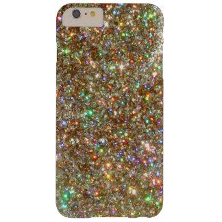 CASO MÁS del iPHONE 6 de plata de la joya del Funda De iPhone 6 Plus Barely There