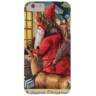 Caso más del iPhone 6 de Santa del vintage apenas Funda De iPhone 6 Plus Barely There